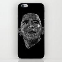 obama iPhone & iPod Skins featuring Obama by William