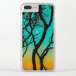 Ghost Town Clear iPhone Case