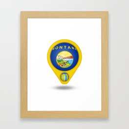 Montana Framed Art Print