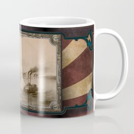 Steamboats on the river. Age of Steam #014 Coffee Mug