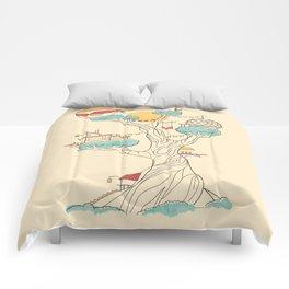 Treehouse Comforters