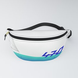 470 Olympic Sailing Fanny Pack