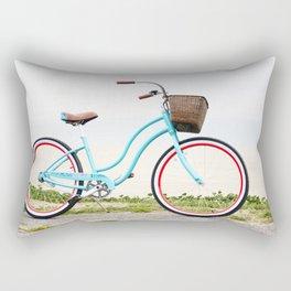 Beach Cruiser Bike Rectangular Pillow