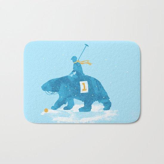 the polar games Bath Mat