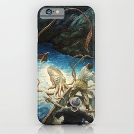 The Adventure of the Giant Squid, 1939 by Newell Convers Wyeth iPhone Case