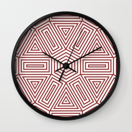 Op Art 23 Wall Clock