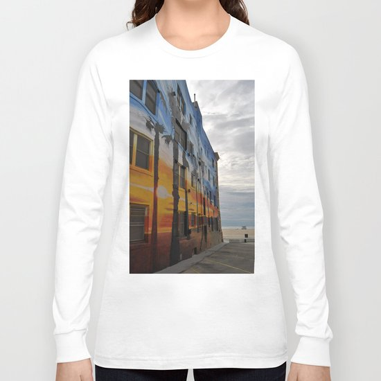Venice Tropical Mural Long Sleeve T-shirt