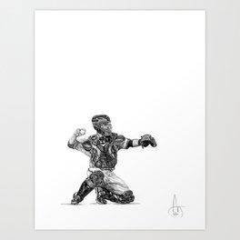 Buster Posey Art Print