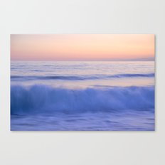 Pink wave Canvas Print