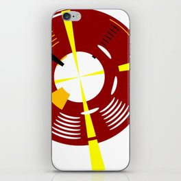 The Red Lighthouse As Seen From Above iPhone Skin