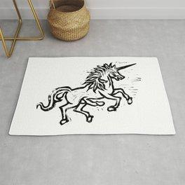 Five Legged Unicorn Rug