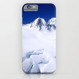 Snowy Slopes iPhone Case