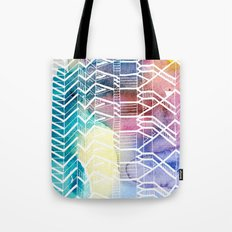 colorful Indians Tote Bag