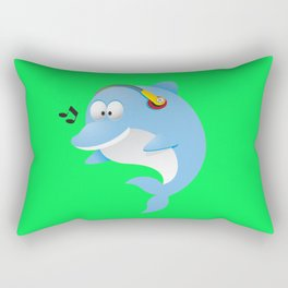 Cute dolphin Rectangular Pillow