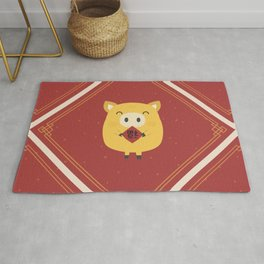 Year of the Pig Rug