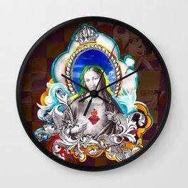 Sagrado Coração de Jesus (Sacred Heart) #1 Wall Clock