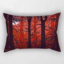 September in the boreal forest Rectangular Pillow