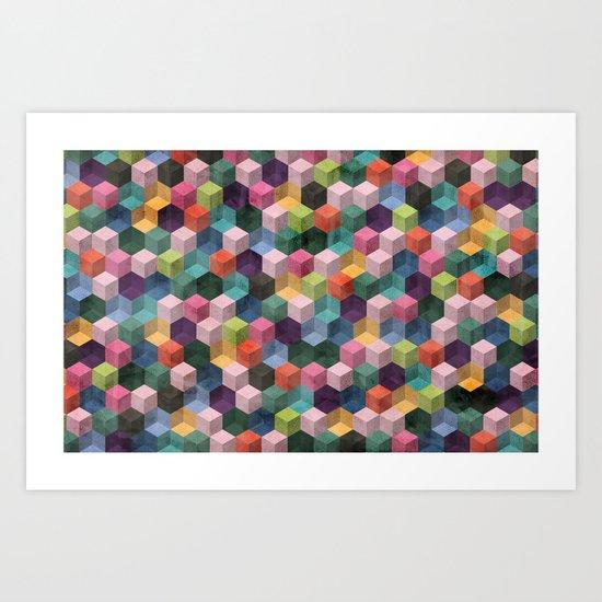 Qbert Art Print
