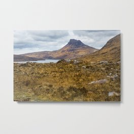 Moorland Views Metal Print