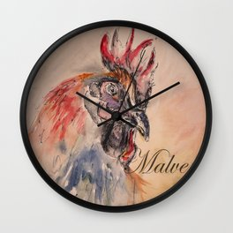 Malvern Rooster Wall Clock