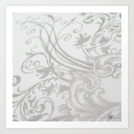 Vines & Filigree Art Print