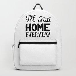 I'll write home Backpack