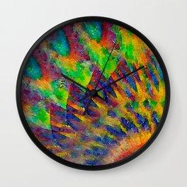 Revolving Wall Clock