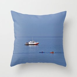 Fun on the Water Throw Pillow