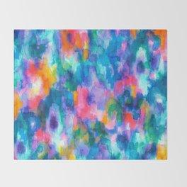 Paradise (Blue) Throw Blanket