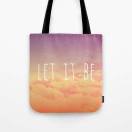 """Let it be"" sunset Tote Bag"