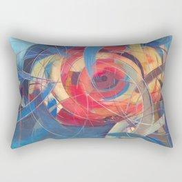 Tidal Bore Rectangular Pillow