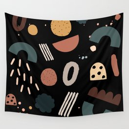 Geo Shapes Luxe Wall Tapestry