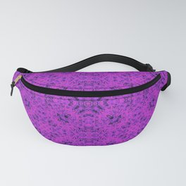 Pink neon ornament Fanny Pack