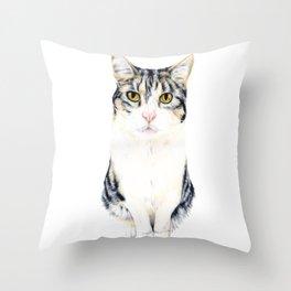 Little cat Harry Throw Pillow