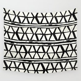 Tribal Geometric Band Wall Tapestry