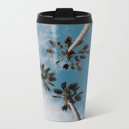 Palm Tree Summer Fun Metal Travel Mug