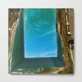 Square sea panorama Metal Print