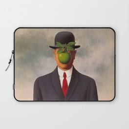 The Son of Man - Rene Magritte Laptop Sleeve