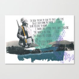 Place Your Hand In Mine Canvas Print