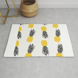 Tropical climate pineapple fruit  Rug