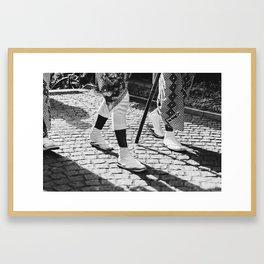 Summer Japanese Festival Framed Art Print