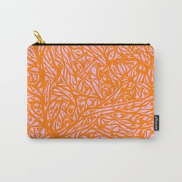 Summer Orange Saffron - Abstract Botanical Nature Carry-All Pouch