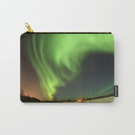 Aurora Borealis or Northern Lights - Alaska Carry-All Pouch