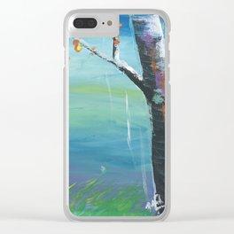 Aspens (II) Clear iPhone Case