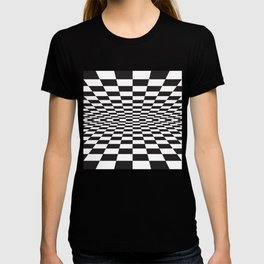 Black and white back and forth - Optical game 15 T-shirt