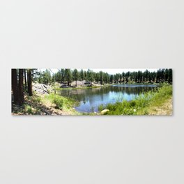 Beaver Pond on the Trail to Forebay Lake Canvas Print