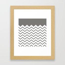 cheveron Framed Art Print