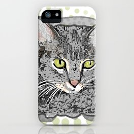 Frances Kat iPhone Case