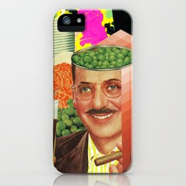 Pea Brain Variations iPhone Case