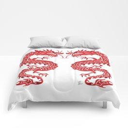 Chinese Dragon – Crimson Palette Comforters